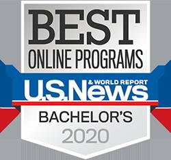U.S. News & World Report Best Online Programs for Bachelor's in 2020